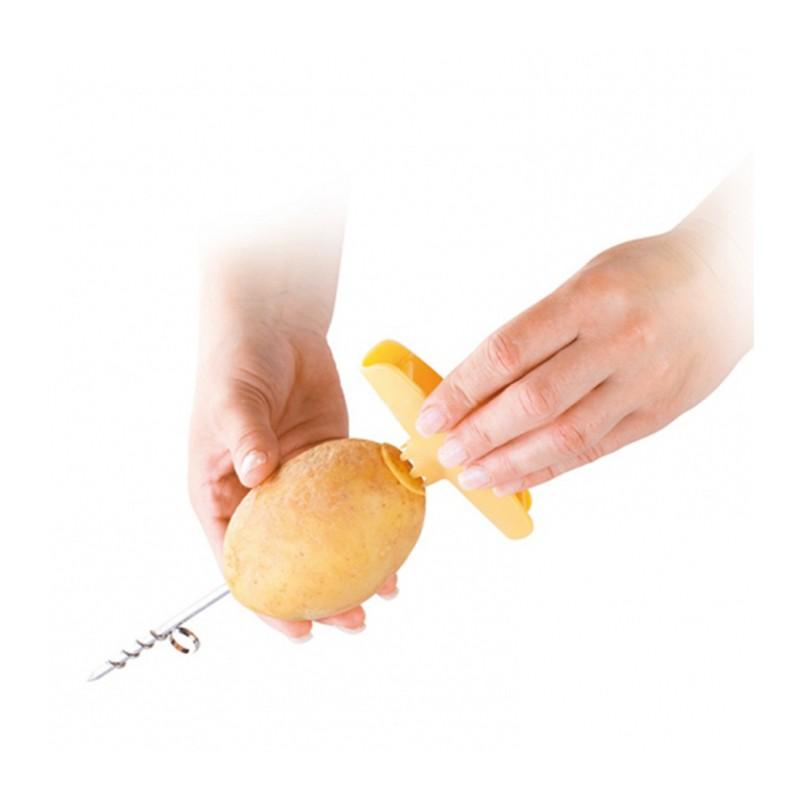 قطاعة البطاطا الحلزونية