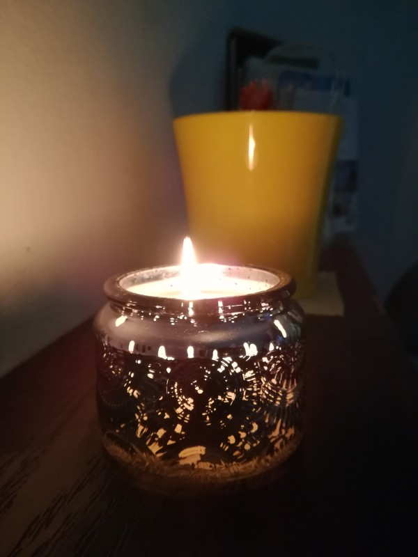 شمعة كوكتيل