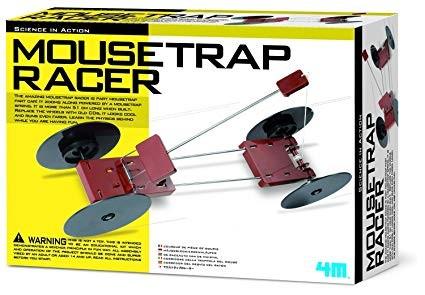 صنع مركبة مصيدة الفئران