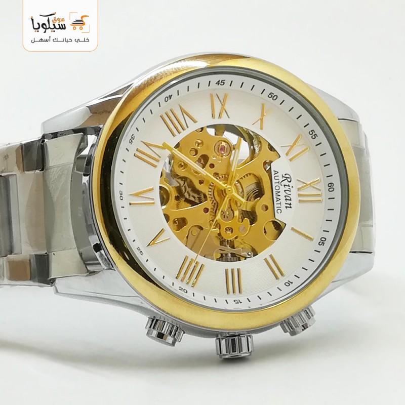 ساعة رجالية ريفان معدن