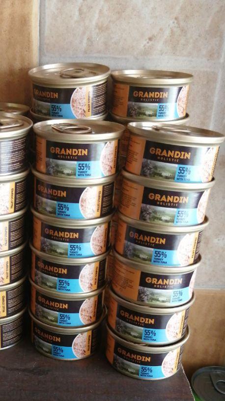 طعام قطط Grandin
