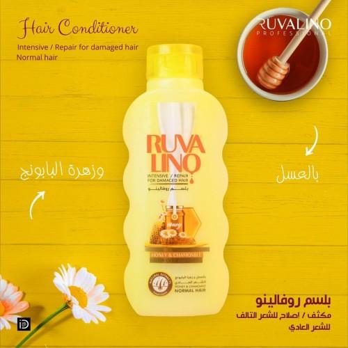 بلسم روفالينو بالعسل مقوي للشعر العادي ٤٠٠مل
