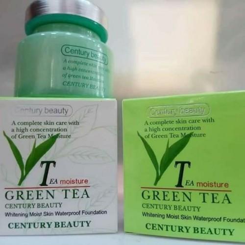 واقي شمسي + كريم اساس الشاي الأخضر