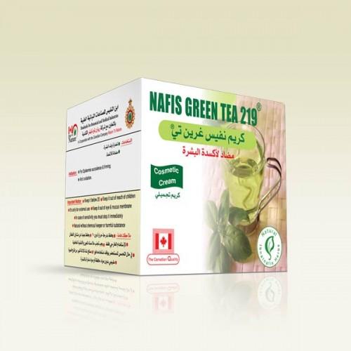 كريم بزيت الشاي الأخضر الصيني 219