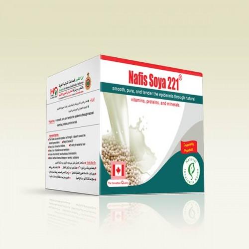 كريم بزيت الصويا لعلاج شيخوخة البشرة ولنضارة الوجه والجسم 221