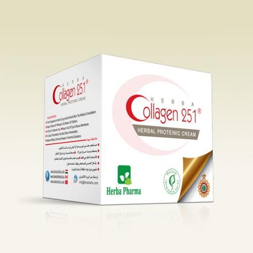كريم عشبي بروتيني بالكولاجين وحمض الهيالوروني  251
