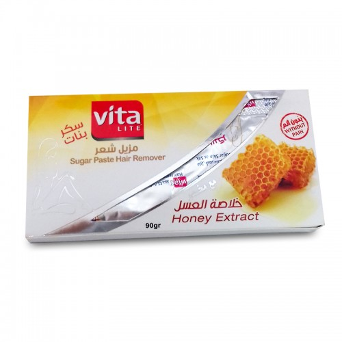 سكر بنات فيتا لايت بخلاصة العسل (شرائح )