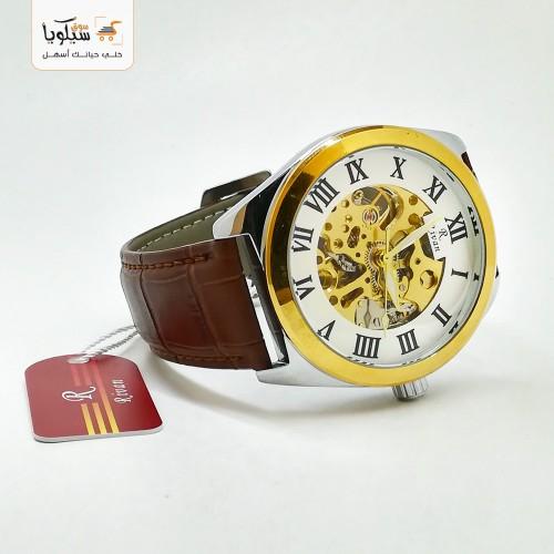 ساعة رجالية ريفان جلد