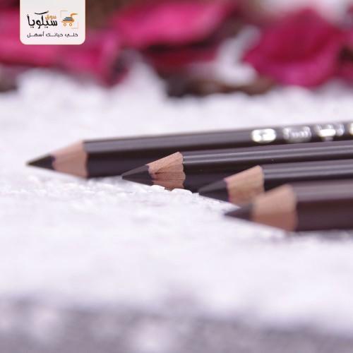 قلم حواجب طرف واحد زيبرا