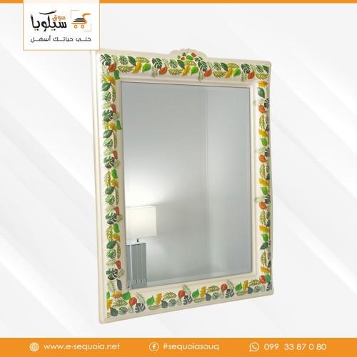 مرآة كبيرة اطار بلاستيك