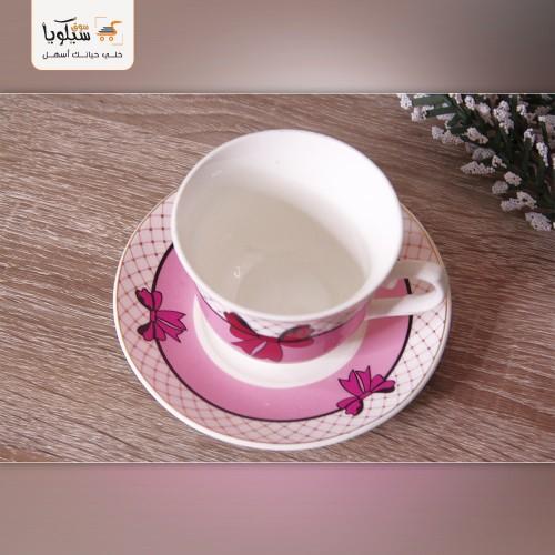طقم فنجان شاي