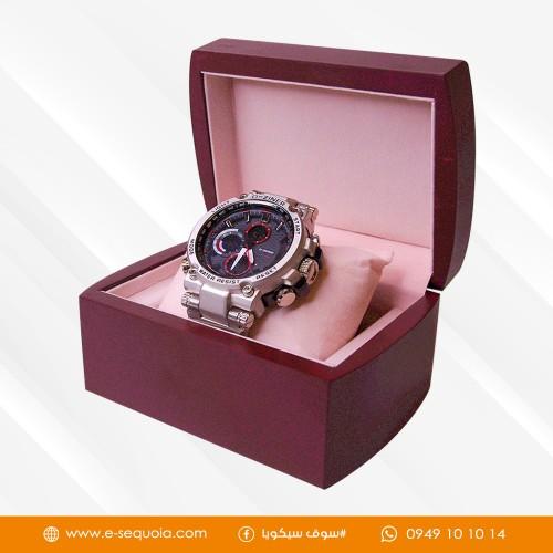 ساعة رجالية معدن
