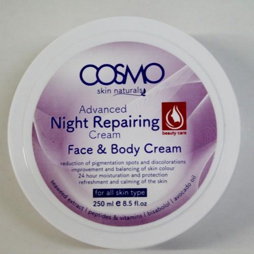 كريم ليلي مطور لإصلاح الوجه والجسم 250 مل