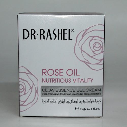 كريم د.راشيل بخلاصة الورد