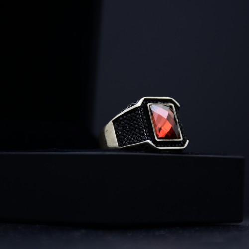 خاتم فضة رجالي