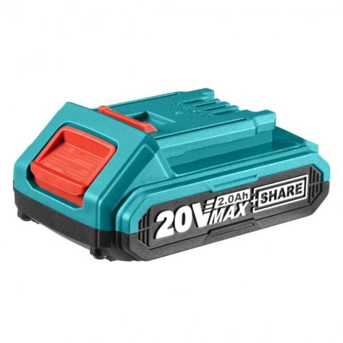 بطارية 20 فولت - ليثيوم 2 أمبير ( مناسبة لجميع ادوات 20 فولت )