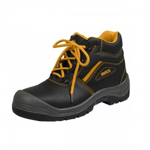 حذاء صناعي اسود - مقدمة معدن - 41
