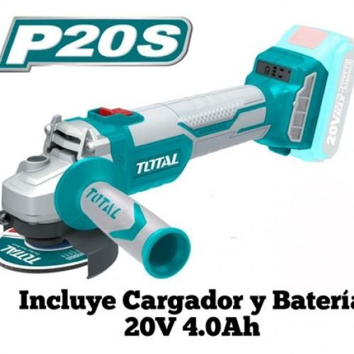 TAGLI1152 جلخ 20 فولت 4.5 انش مزود بمحرك بدون فحمات صناعي ماركة TOTAL
