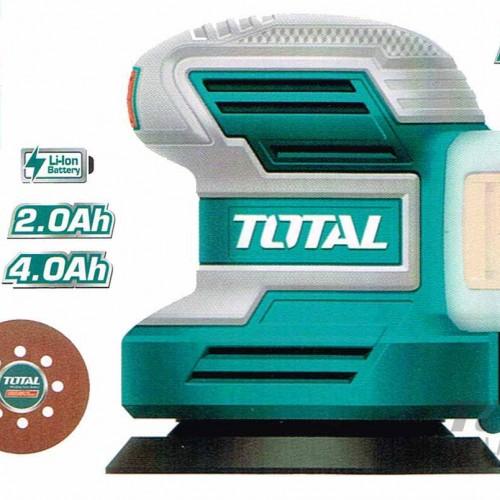 TROSLI2001 حفافة دائرية 20 فولت مع 5 ورقة برداغ بدون بطارية وشاحن TOTAL