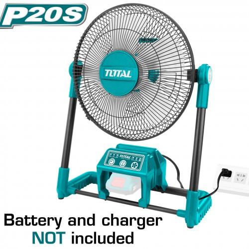 TFALI2001 مروحة 20 فولت 3 سرعات بدون شاحن وبطارية TOTAL