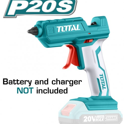 TGGLI2001 فرد سيليكون حامي بطارية 20 فولت قطر 11.2 مم بدون بطارية وشاحن TOTAL