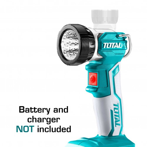 TWLI2001 مصباح ليد 20 فولت 225 شمعة بدون بطارية وشاحن TOTAL