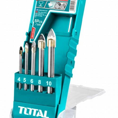 TACSD7256 طقم ريش زجاج بلور 5 قطع نوع TOTAL