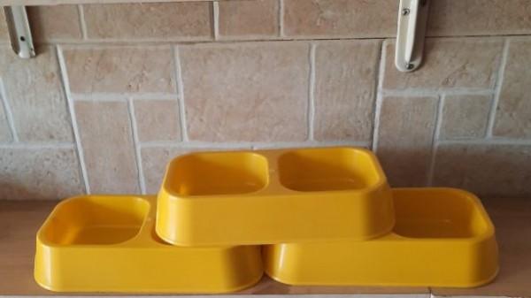 صحن طعام بلاستيك مزدوج