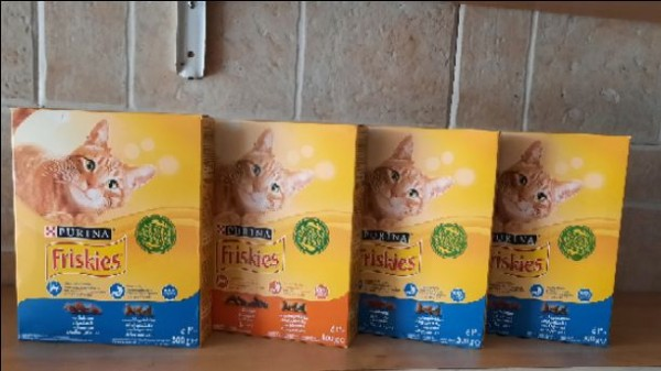 طعان قطط friskies